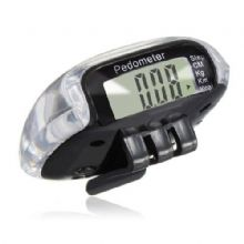 MULTIFUNCTION PEDOMETER - BLACK